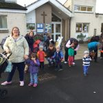 Walk-Toddle-Push to Stand up 2 Cancer at St Michael's First School