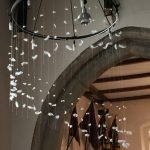 Pentecost installation in church