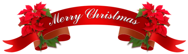 red-christmas-ribbon-with-holly-leaves-and-the-text-merry ...