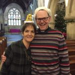 Our Vicar and his wife prepare to celebrate Christmas
