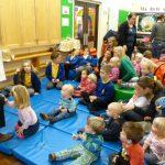 Mini Michaels visit the school!