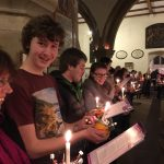 St Michael's Christingle Service, Christmas Eve