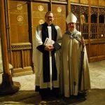 Rev'd Paul Scott and the Bishop of Newcastle, Right Rev'd Christine Hardman